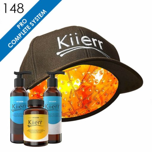 Kiierr 148 Pro Laser Cap Complete Hair Growth System